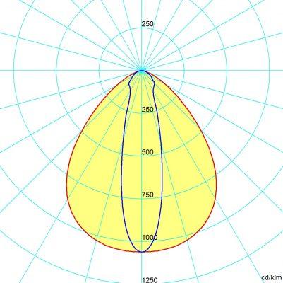 symétrique 80x100°